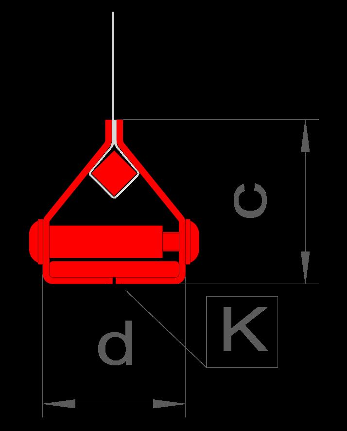 d = 44 mm / c = 50 mm