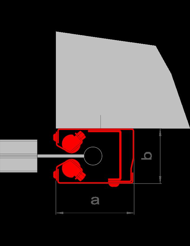 """{""""a"""":""""105 mm"""",""""b"""":""""74 mm"""",""""AL"""":""""≤ 6 m"""",""""A"""":""""≤ 50 m²""""}"""