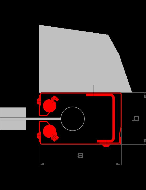 """{""""a"""":""""160 mm"""",""""b"""":""""100 mm"""",""""AL"""":""""≤ 9 m"""",""""A"""":""""≤ 120 m²""""}"""