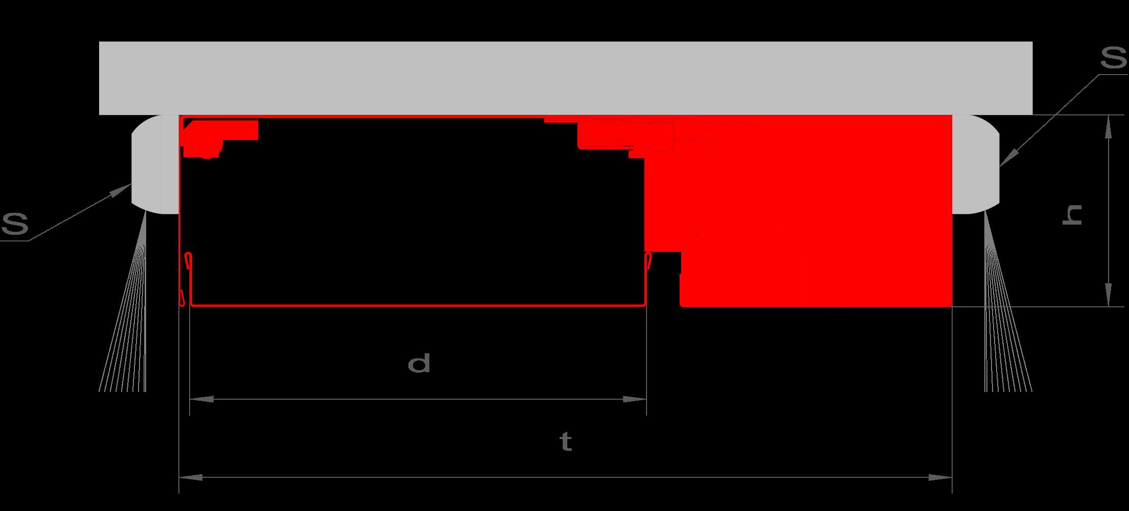 """{""""h"""":""""125 mm"""",""""d"""":""""290 mm"""",""""t"""":""""490 mm"""",""""S"""":""""Infrarot Sicherung""""}"""