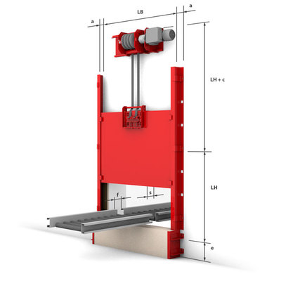 Konstruktiver Systemaufbau - Vertikal