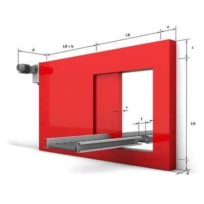 Konstruktiver Systemaufbau - Horizontal