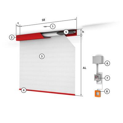Konstrukční provedení - jeden modul