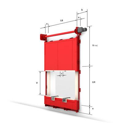 Konstrukční provedení - vertikální