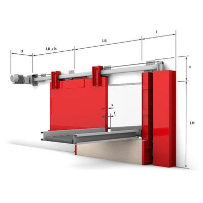 Konstrukční provedení - horizontální