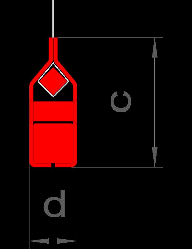 d = 24 mm / c = 65 mm