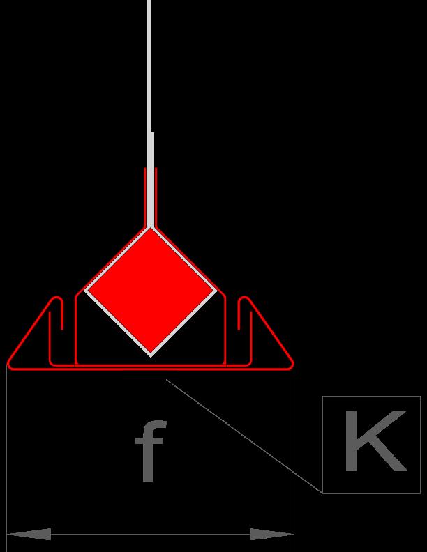 f = 61 mm